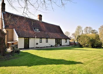 Thumbnail 5 bed detached house for sale in Bunwell Street, Bunwell, Norwich