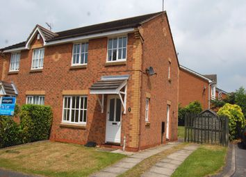 Thumbnail 3 bed semi-detached house to rent in Houghton Avenue, Shipley View, Ilkeston, Derbyshire