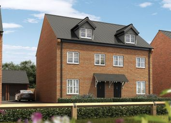 Thumbnail 3 bed semi-detached house for sale in Leicester Road, Uppingham, Oakham