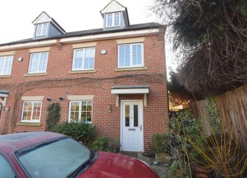 Thumbnail 3 bed town house for sale in Downing Close, Bletchley, Milton Keynes
