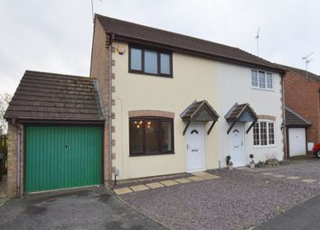 Thumbnail 2 bed semi-detached house for sale in Burgess Close, Stratton, Swindon, Wiltshire