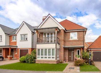 Thumbnail 4 bed detached house for sale in Willowbourne, Fleet, Hampshire