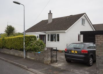 Thumbnail 4 bedroom detached bungalow for sale in Efail Newydd, Benllech