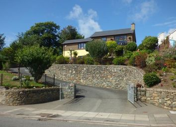 Thumbnail 4 bed detached house for sale in Abererch Road, Pwllheli, Gwynedd