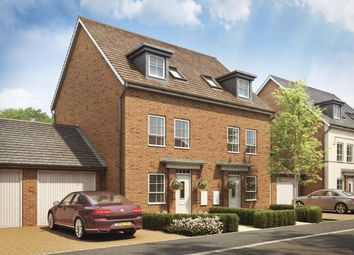 "Thumbnail 3 bed semi-detached house for sale in ""Padstow"" at Lady Margaret Road, Ifield, Crawley"