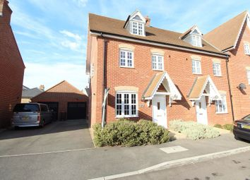 Thumbnail 4 bed semi-detached house for sale in Stedeham Road, Biddenham, Bedford