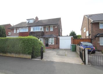 Thumbnail 3 bed semi-detached house for sale in Eddisbury Avenue, Urmston, Manchester