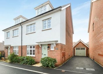 4 bed semi-detached house for sale in Hawkweed Close, Newton Abbot TQ12