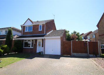 Thumbnail 3 bed detached house for sale in Hawks Way, Sleaford