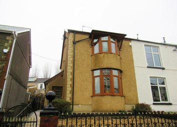 Thumbnail 3 bed semi-detached house for sale in Brynmawr Place, Maesteg, Bridgend.