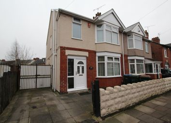 Thumbnail 3 bedroom semi-detached house for sale in Biggin Hall Crescent, Coventry