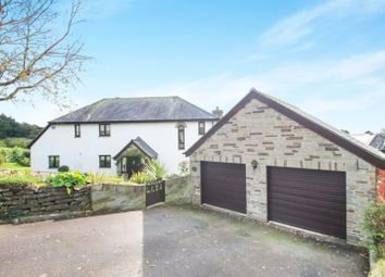 Thumbnail 4 bedroom detached house for sale in Orchard Close, St Mellion, Saltash