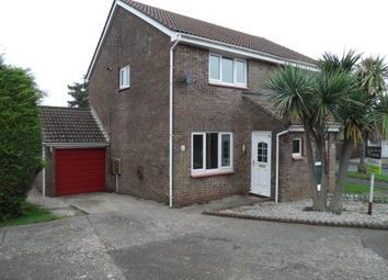 Thumbnail 2 bed semi-detached house for sale in Haytor Avenue, Paignton