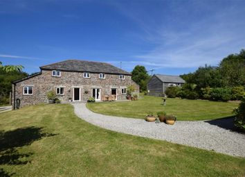 Thumbnail 4 bed barn conversion for sale in Lostwithiel