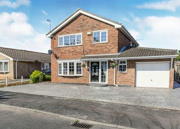 Thumbnail 3 bed detached house for sale in Finghall Road, Skellow, Doncaster