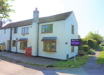 Thumbnail 3 bed cottage for sale in Main Road, Louth