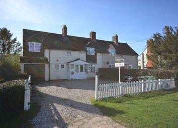 Thumbnail 3 bed semi-detached house for sale in Tye Green, Wimbish, Saffron Walden