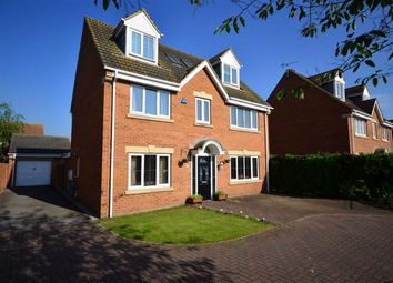 Thumbnail 5 bed detached house for sale in Home Farm Close, Hensall, Goole
