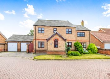 Thumbnail 5 bed detached house for sale in Welbeck Close, Barnby, Beccles