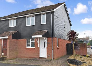 Thumbnail 2 bedroom semi-detached house for sale in Waterside Drive, Donnington, Nr Chichester, West Sussex