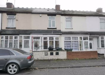 Thumbnail 3 bed terraced house to rent in Burlington Road, West Bromwich