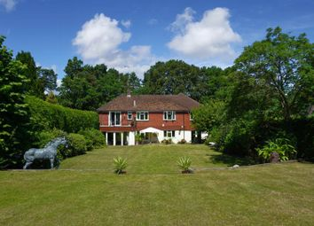 Thumbnail 5 bed detached house for sale in Frensham Vale, Farnham