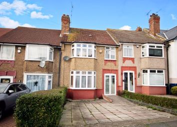 Thumbnail 3 bed terraced house for sale in Rosehill Gardens, Greenford