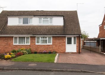 Thumbnail 2 bedroom semi-detached house for sale in Bedford Close, Kegworth, Derby
