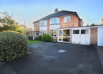 Thumbnail 3 bed semi-detached house for sale in Damson Lane, Solihull