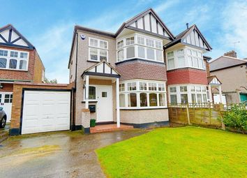 Thumbnail 3 bed semi-detached house for sale in Croft Gardens, Ruislip