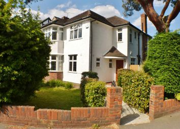 Thumbnail 4 bed detached house to rent in Newlands Avenue, Thames Ditton