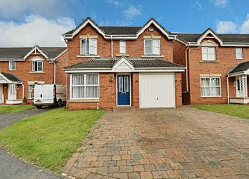 Thumbnail 4 bed detached house for sale in Philip Larkin Close, Hull