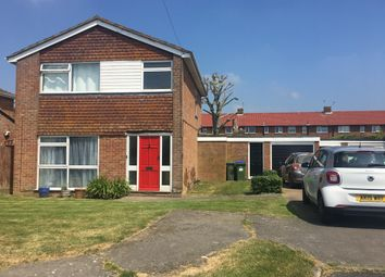 Thumbnail 3 bed detached house for sale in Greenwell Close, Seaford, Seaford