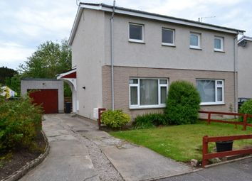 Thumbnail 2 bed semi-detached house for sale in 29 Highfield, Forres