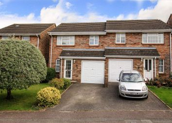 Thumbnail 3 bed semi-detached house for sale in Hunters Close, Tring