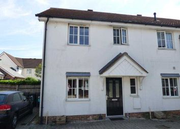 Thumbnail 2 bed end terrace house to rent in Walter Mead Close, Ongar, Essex