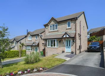 Thumbnail 3 bed detached house for sale in Rushmoor Close, Loveclough, Rossendale