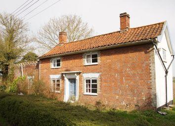 Thumbnail 3 bed cottage for sale in Chapel Lane, Horham, Eye