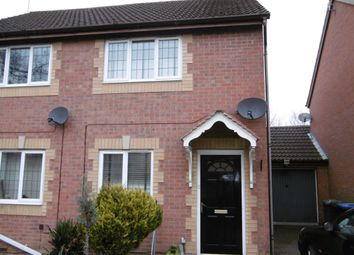 Thumbnail 2 bed property to rent in Jordan Close, Market Harborough, Leicestershire