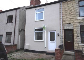 Thumbnail 2 bed end terrace house to rent in Burnell Street, Brimington, Chesterfield