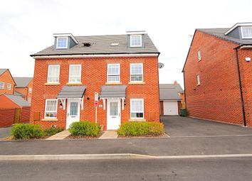 Thumbnail 3 bed semi-detached house for sale in Fleet Road, Leicester