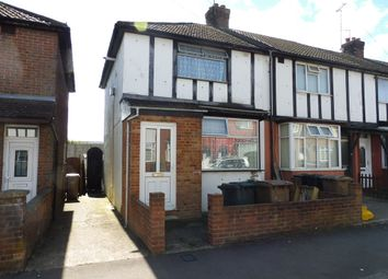 Thumbnail 2 bedroom end terrace house for sale in Connaught Road, Luton