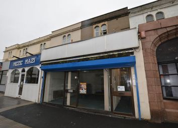Thumbnail Retail premises to let in Oxford Street, Weston-Super-Mare