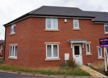 Thumbnail 3 bed semi-detached house for sale in Draycott Avenue, Rothley