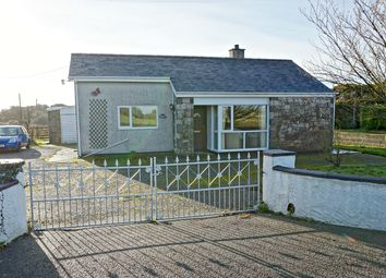 Thumbnail 3 bed bungalow for sale in Bodffordd, Llangefni