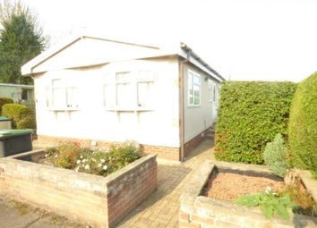 Thumbnail 1 bed mobile/park home for sale in Wallow Lane, Great Bricett, Ipswich