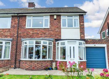 Whiteacres, Morpeth NE61. 3 bed semi-detached house