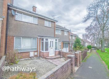 Thumbnail 3 bed terraced house for sale in Dinas Path, Fairwater, Cwmbran