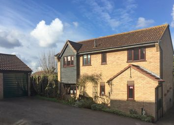 Thumbnail 4 bed detached house for sale in Burrows Close, Lawford, Manningtree