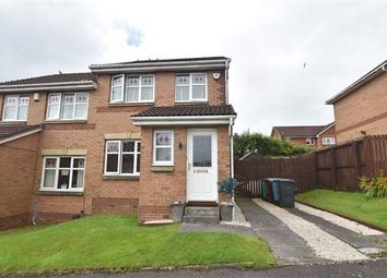 Thumbnail 3 bed semi-detached house for sale in Dunellan Way, Moodiesburn, Glasgow